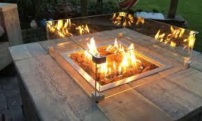 Table à feu