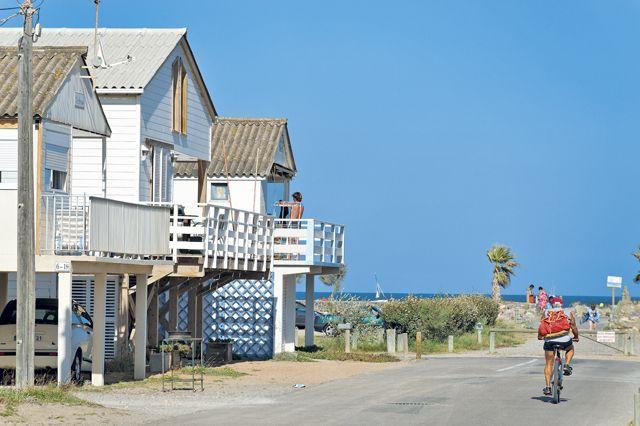 Cabanes de Gruissan plage