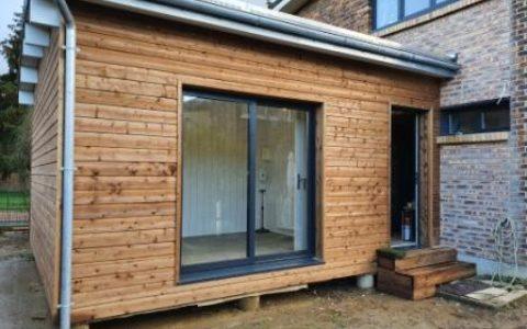 Extension bois 18m² dans les Yvelines