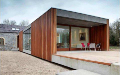 Extension bois 60 m² sur mesure dans les LANDES